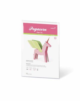 Papīra rotaļa Pegacorn