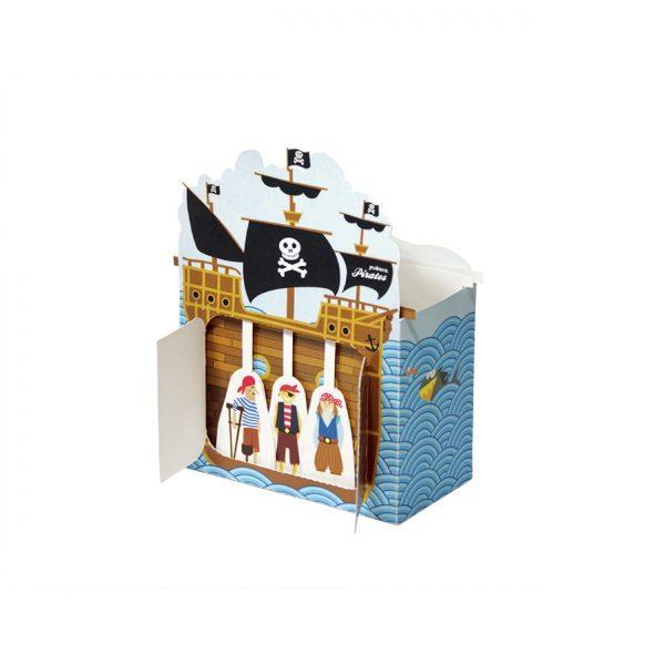 Papīra rotaļa Pirates