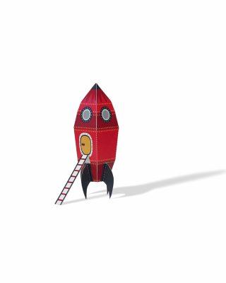 Papīra rotaļa Rocket