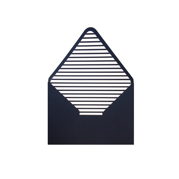 Aploksne ar oderi Tumši zilas strīpas