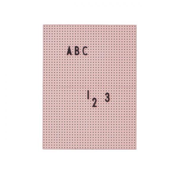 Ziņojumu tāfele, A4, rozā