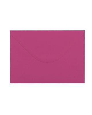 C5 izmēra aploksne, fuksiju rozā, ar ieapaļu aizdari