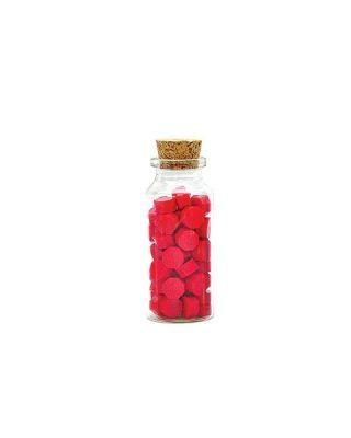 Zīmoglaka Bottle O Wax, sarkana