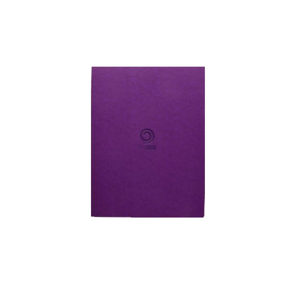 Notebook Tea Book, purple