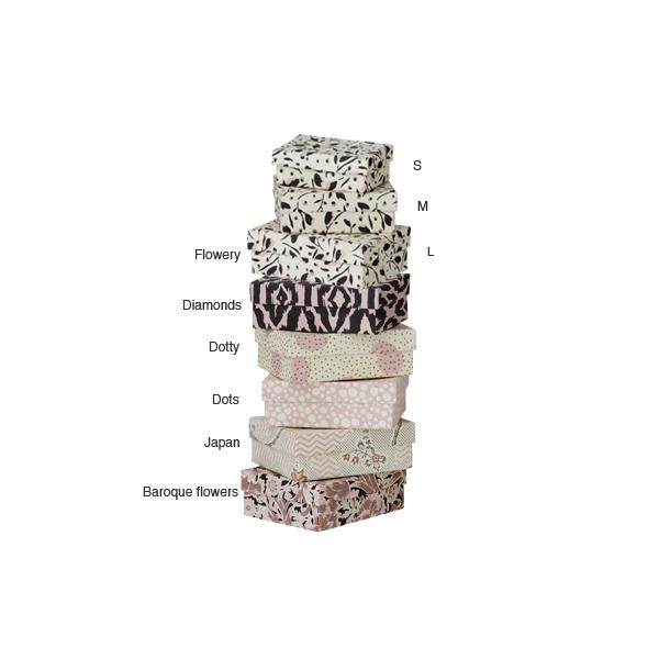 Mini kastīte Bazaar Nude, Dots, M
