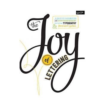 Grāmata Joy of lettering
