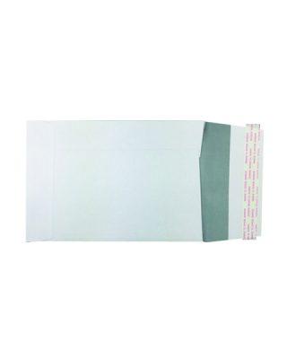 C5 izmēra vertikāla aploksne, balta, Peel & Seal