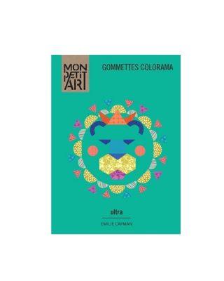 Uzlīmju grāmata Gommettes Colorama