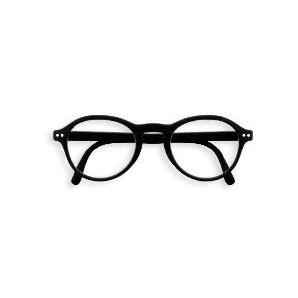 Lasāmbrilles, Black,+2.5