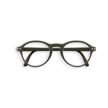 Lasāmbrilles, Khaki,+2.5