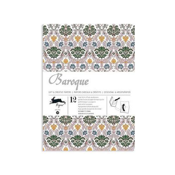 Dāvanu ietinamo papīru grāmata Baroque