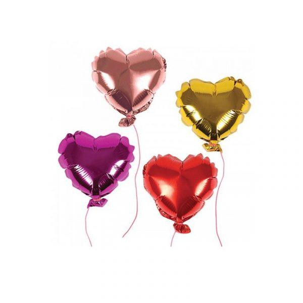 Balonu komplekts Mini heart