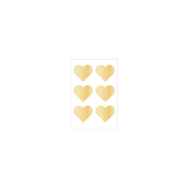 Uzlīmes Hearts, 3 loksnes, Arte