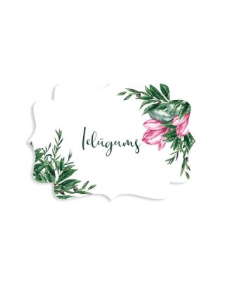 Kartīšu komplekts Retro, Magnolija, Ielūgums