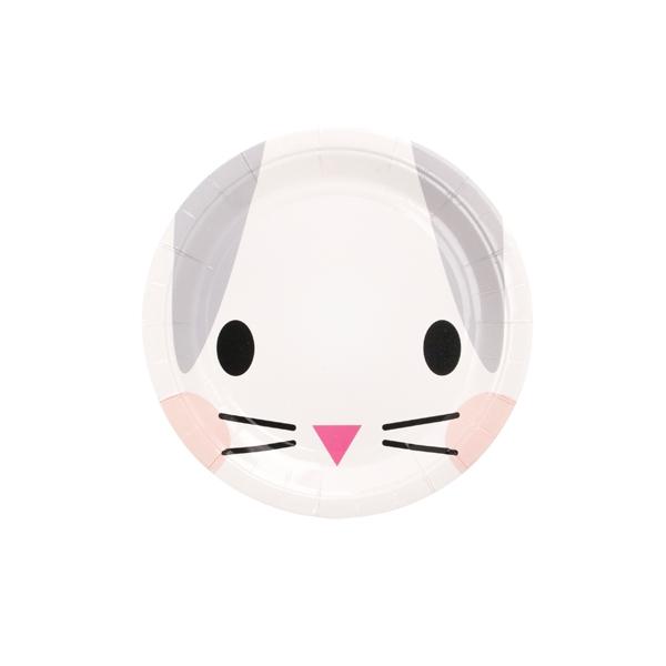 Papīra šķīvji Mini rabbit