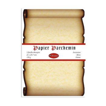 Papīra loksnes Papier Parchemin, 5 gab.