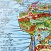 Plakāts – Sērfošanas ceļojumu karte, Surf trip