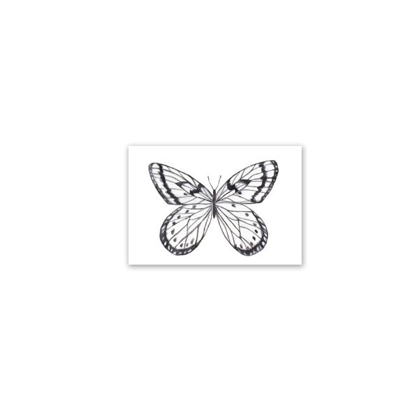 Mini kartīte Butterfly, dažādi veidi