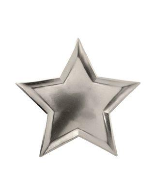 Papīra šķīvji Silver Star