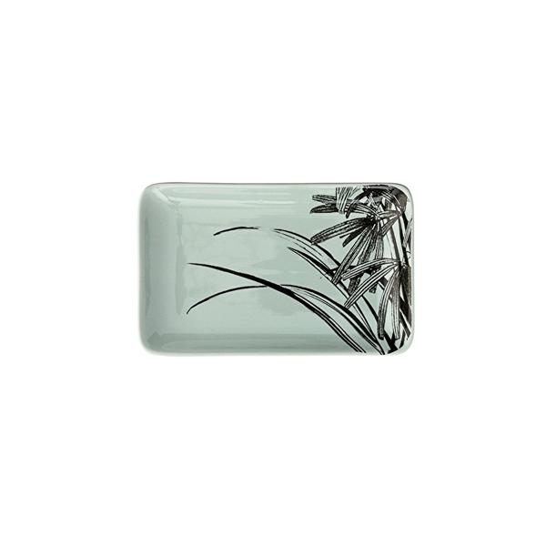 Šķīvis Sooji Mint, keramikas, taisnstūra