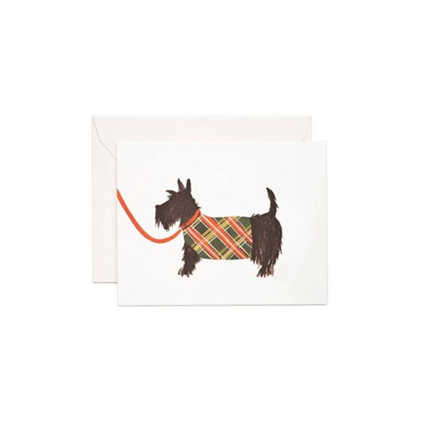 Kartīte Scottish Terrier