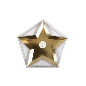 Papīra šķīvji Gold Star
