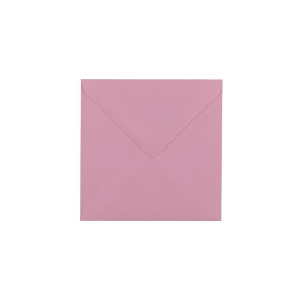 Kvadrāta aploksne, pasteļu rozā