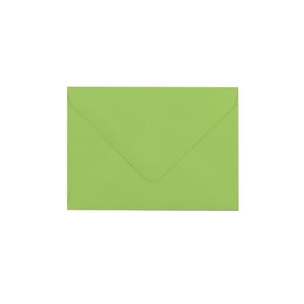 C6 izmēra aploksne, laima zaļa