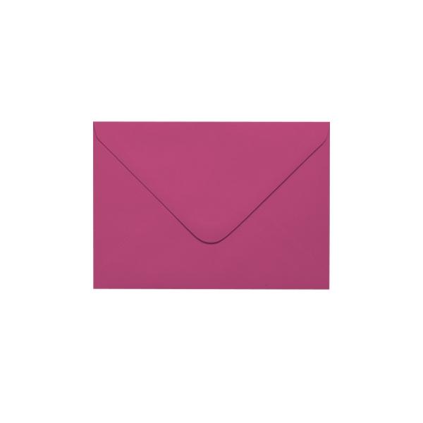 C6 izmēra aploksne, fuksiju rozā