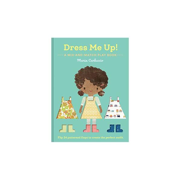 Rotaļa – grāmata Dress me up!