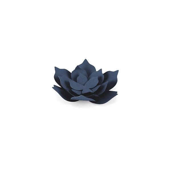 Papīra zieds, tumši zils, 18 gab.