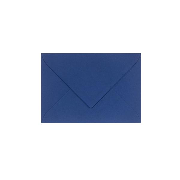 C6 izmēra aploksne, tumši zila