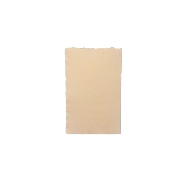 Rokas lējuma papīra kartīte, vienpusēja, laša rozā