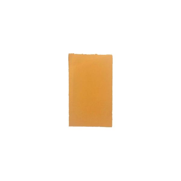 Rokas lējuma papīra kartīte, vienpusēja, terracota