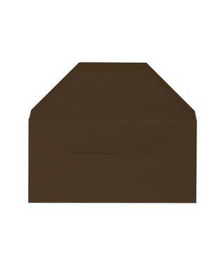 DL izmēra aploksne, šokolādes brūna