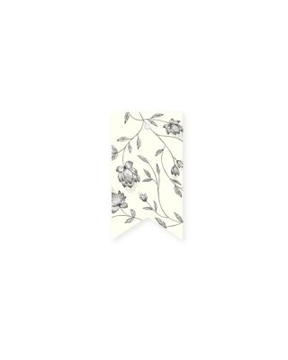 Etiķete La Fleur Pattern, krēmkrāsa