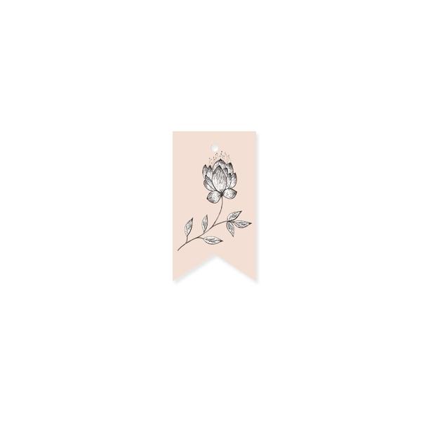 Etiķete La Fleur Flower, biscuit