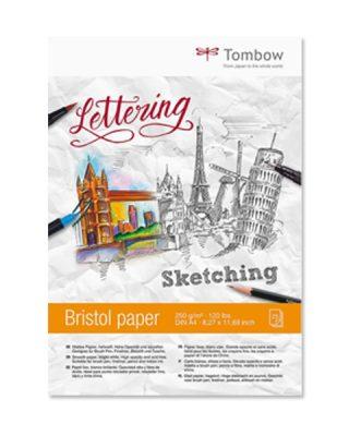 Zīmēšanas albums Sketching Bristol Paper, Tombow