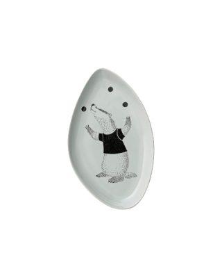Keramikas šķīvis Lācis