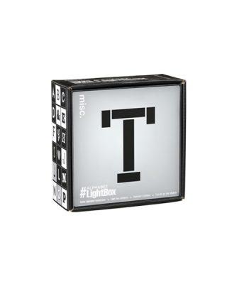 Mini gaismas kaste Alphabet, T