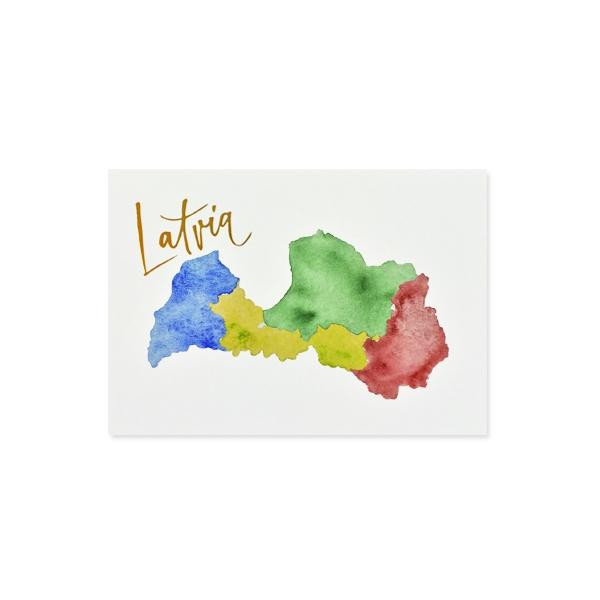 Kartīte Latvia, Novadi