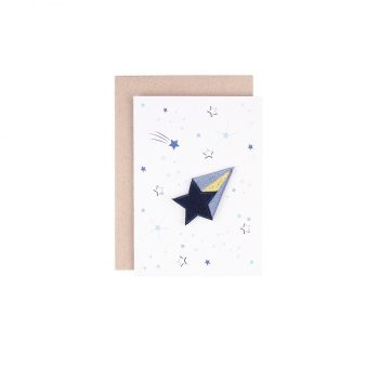Kartīte Zvaigznes un uzgludināms izšuvums apģērbam Zvaigzne