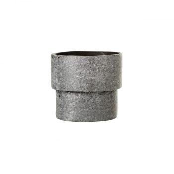 Puķu pods Grey, keramikas