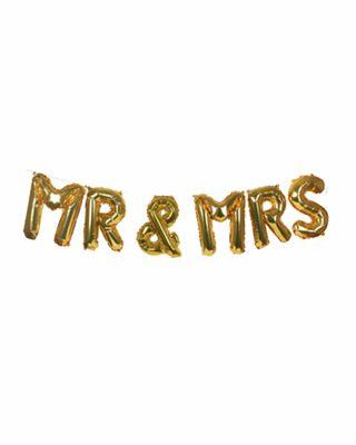 Balonu virtene Mr & Mrs