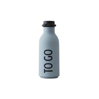 Ūdens pudele TO GO, 500 ml, pelēka