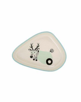 Keramikas šķīvis Cirks, Briedis