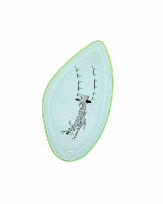 Keramikas šķīvis Cirks, Lapsa