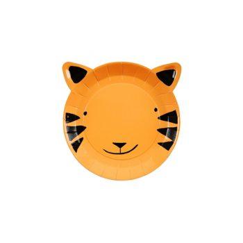 Šķīvis Go Wild Tiger, mazs, 12gab.