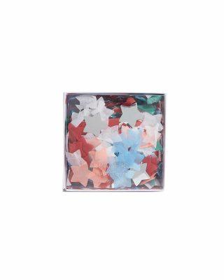 Confetti komplekts Stars, daudzkrāsains
