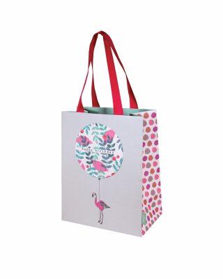 Dāvanu maisiņš Birthday Flamingo